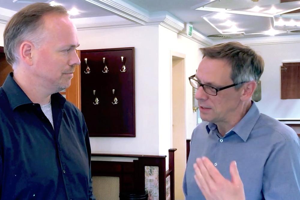 Alexander Friedrich im Interview mit Germar Claus