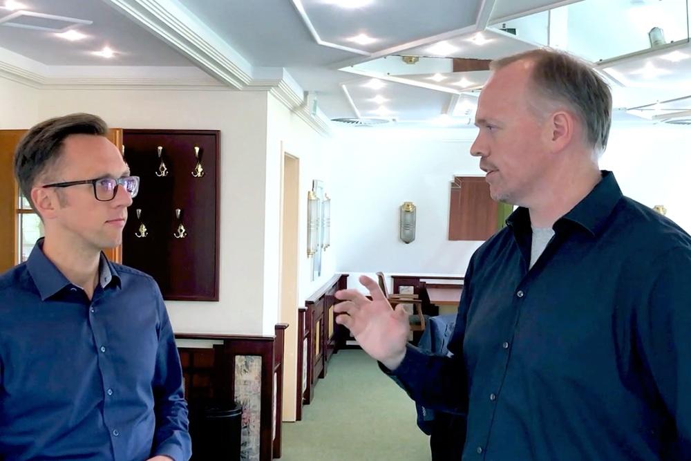 Dennis Braun im Interview mit Germar Claus
