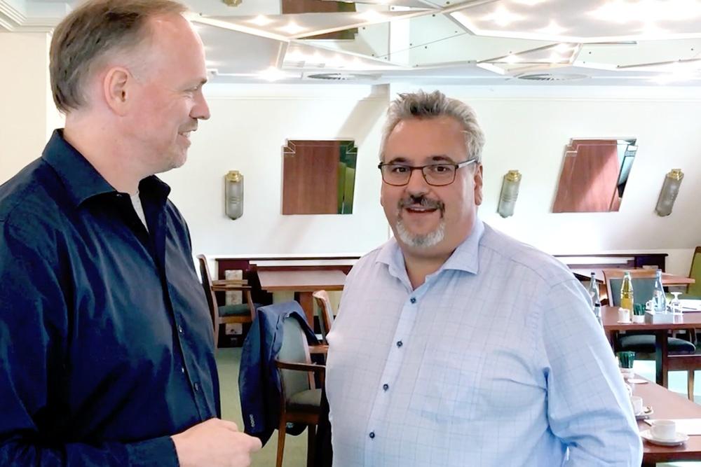 Jerome Wittig im Interview mit Germar Claus