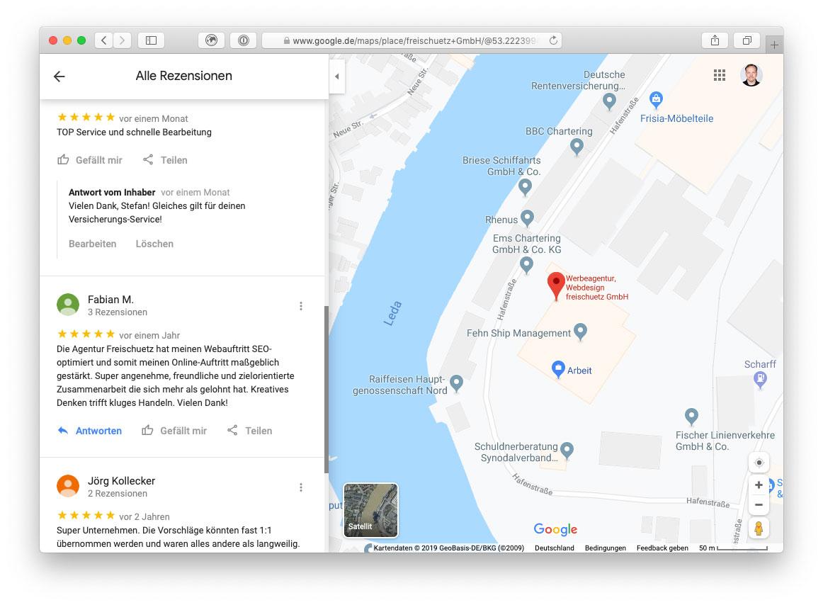 Freischuetz Standort Leer Google Bewertungen