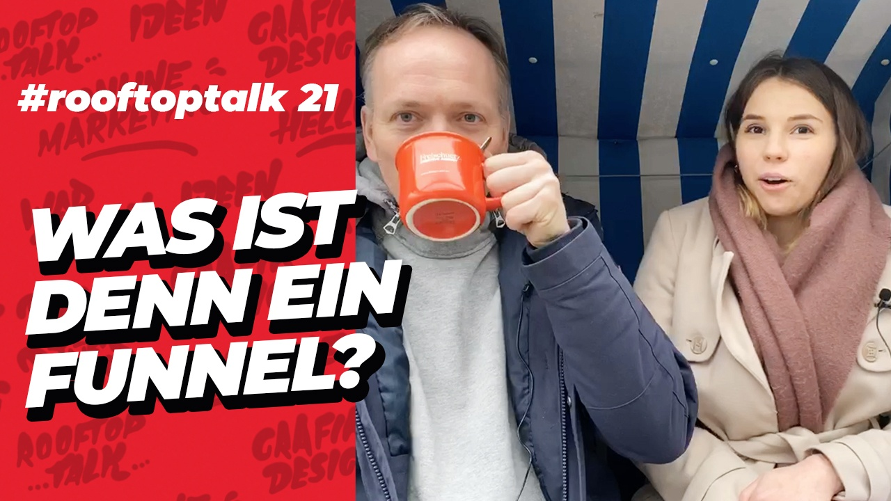 Was ist denn ein Funnel? Videoteaser für den Rooftop Talk #21