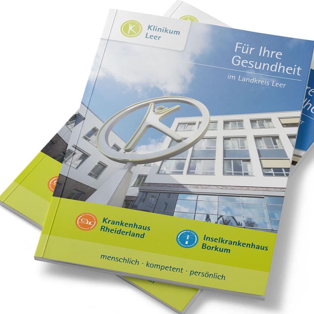 Image-Broschüre für das Klinikum Leer