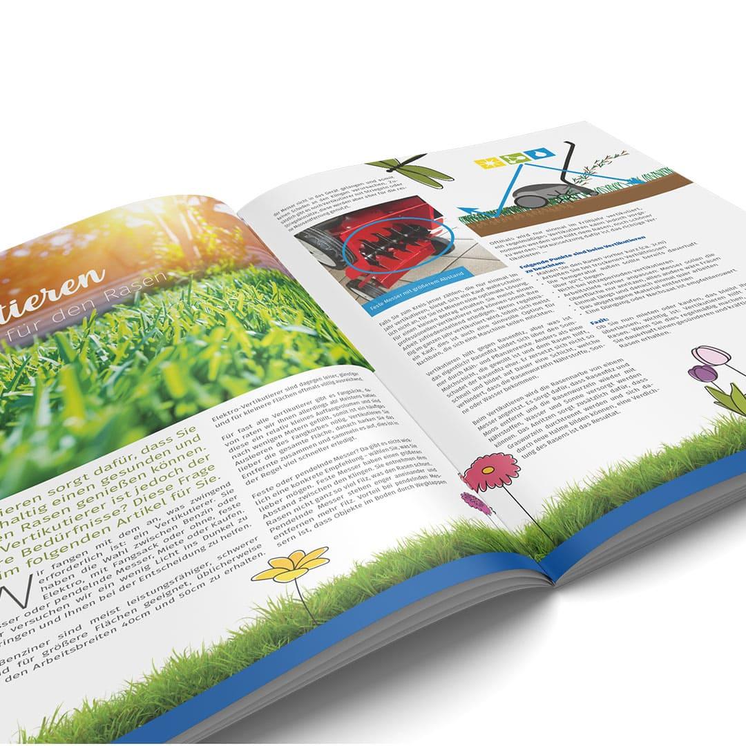 Kundenmagazin für Martin Maschinen Vertrieb