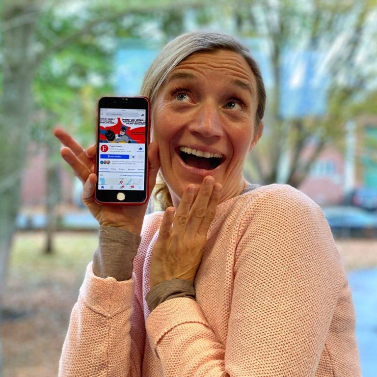 Justina fügt Freischuetz zu ihren persönlichen Facebook-Favoriten hinzu.