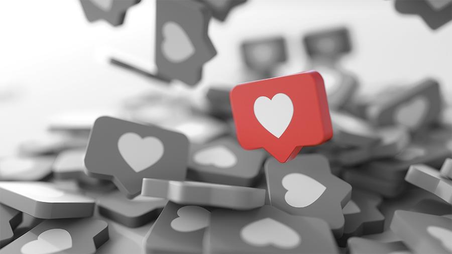 Strategie für mehr Likes auf Social Media