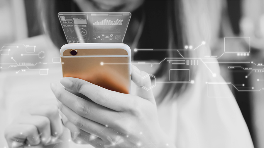 Für mobile Endgeräte optimierte Online Shops